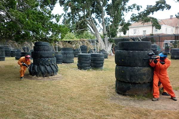 Asylum Paintball TyreMania Arena Action 1 600W