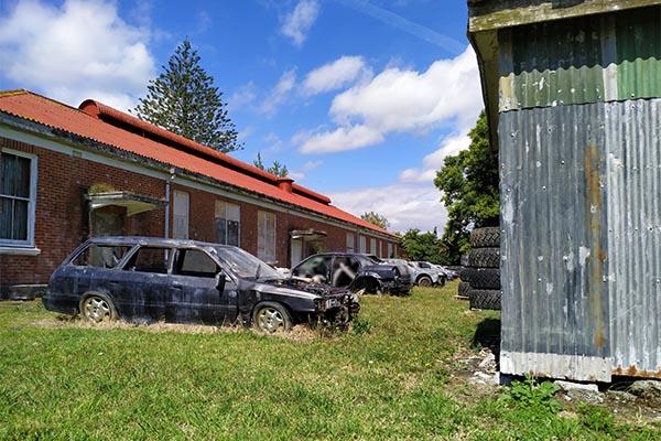 Asylum Paintball Wrecking Yard 1 600W