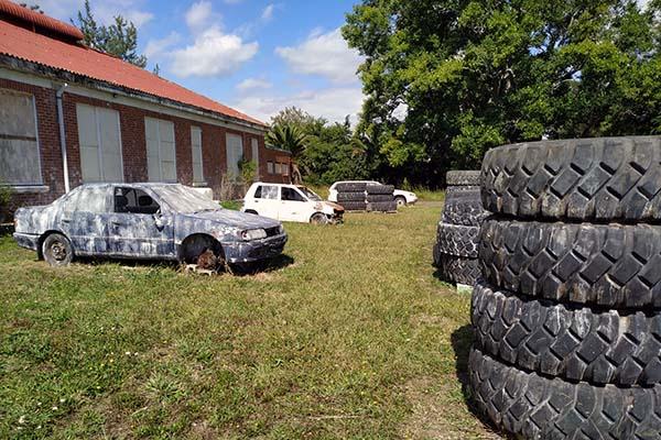 Asylum Paintball Wrecking Yard 3 600W