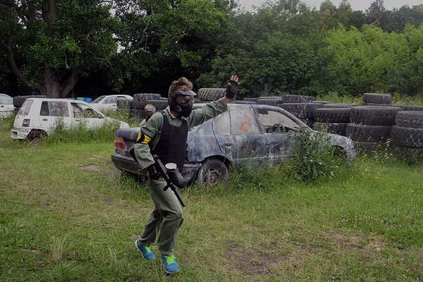 Asylum Paintball Wrecking Yard Action 2 600W